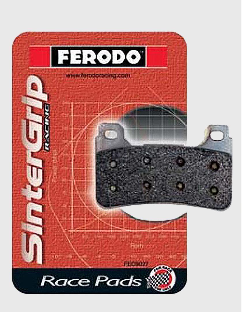 Front Brake Pads Part Number FRP408XRAC | Braketech